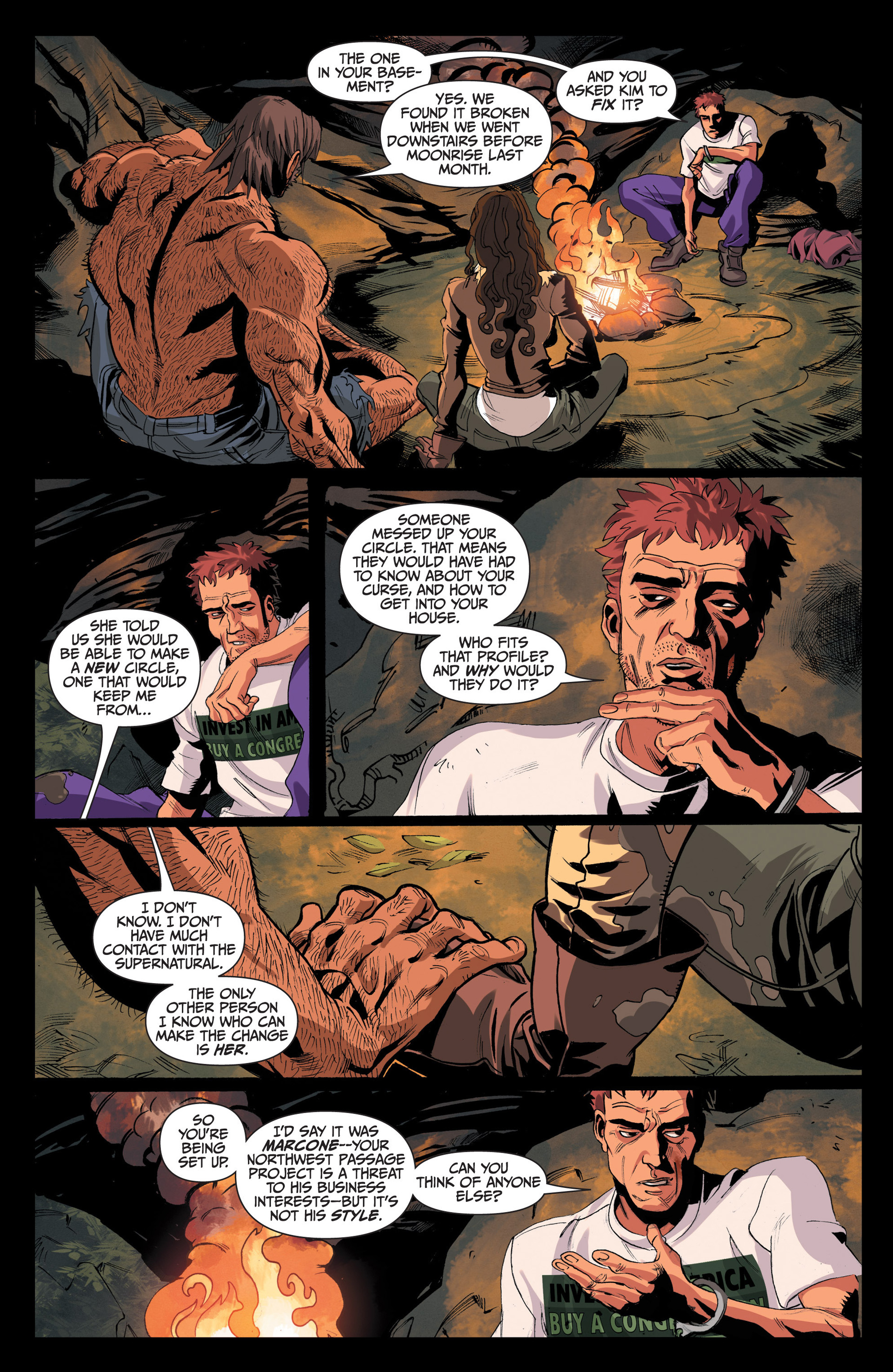 Read online Jim Butcher's The Dresden Files: Fool Moon comic -  Issue #4 - 17