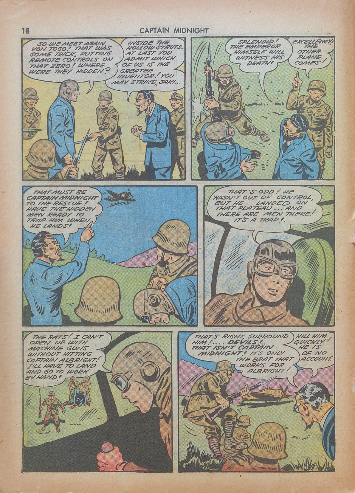 Captain Midnight (1942) issue 7 - Page 18