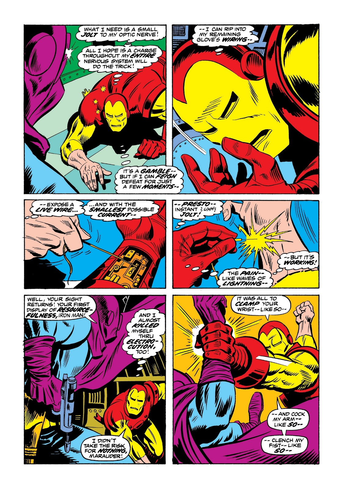 Read online Marvel Masterworks: The Invincible Iron Man comic -  Issue # TPB 9 (Part 2) - 68
