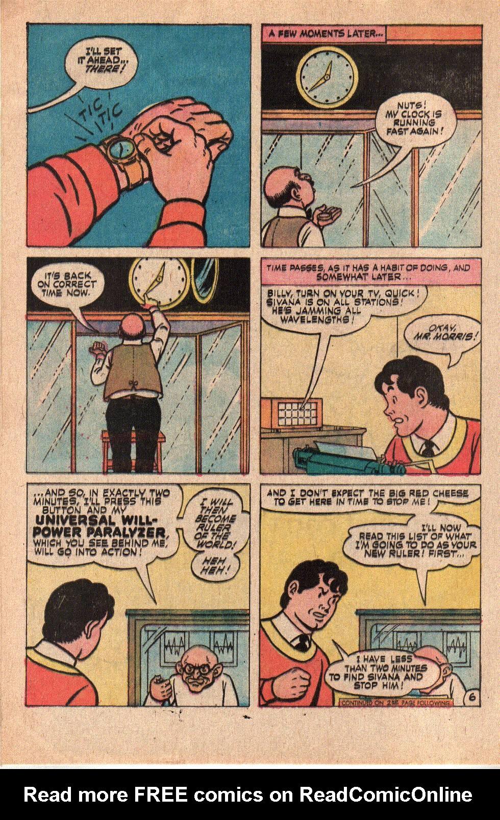 Read online Shazam! (1973) comic -  Issue #6 - 8
