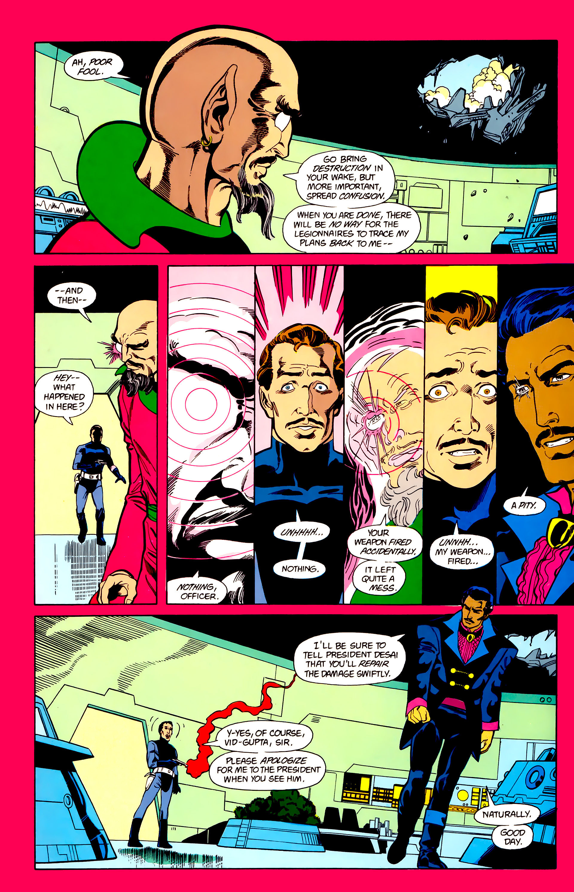 Legion of Super-Heroes (1984) 22 Page 4