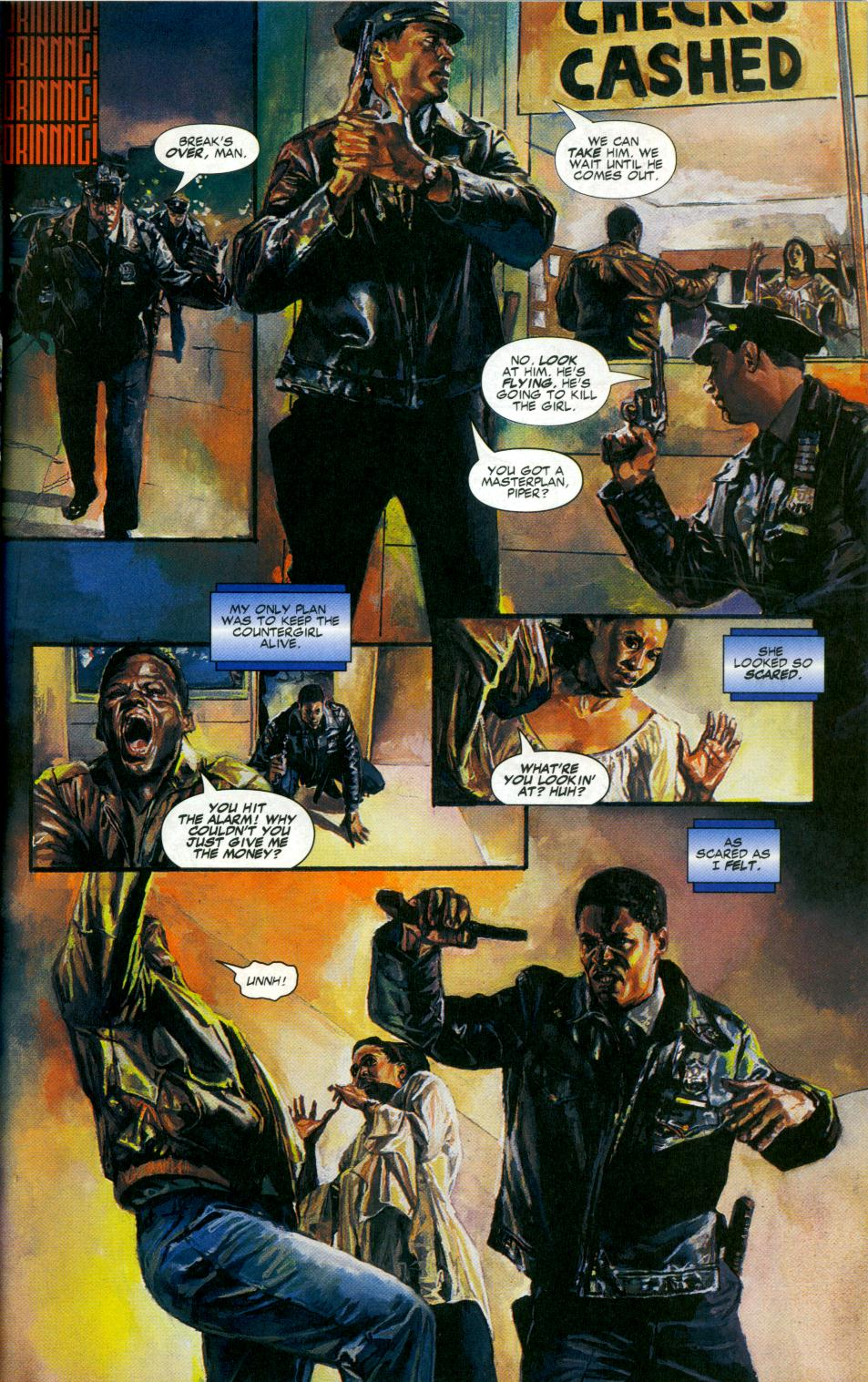 Read online Code of Honor comic -  Issue #1 - 17