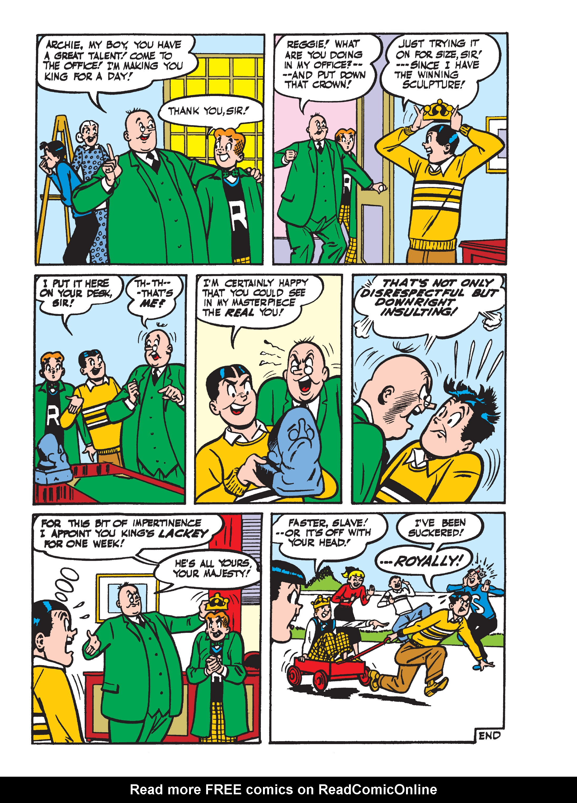 Read online World of Archie Double Digest comic -  Issue #55 - 139