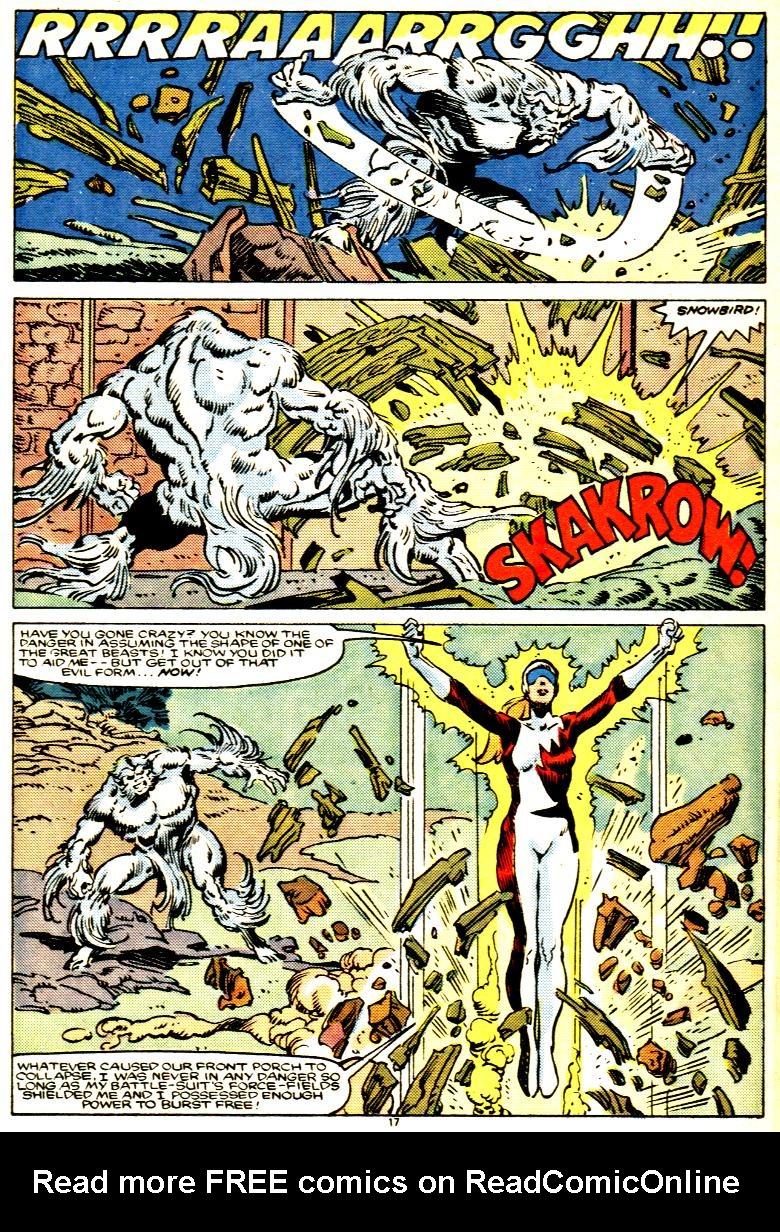 Read online Alpha Flight (1983) comic -  Issue # _Annual 1 - 18