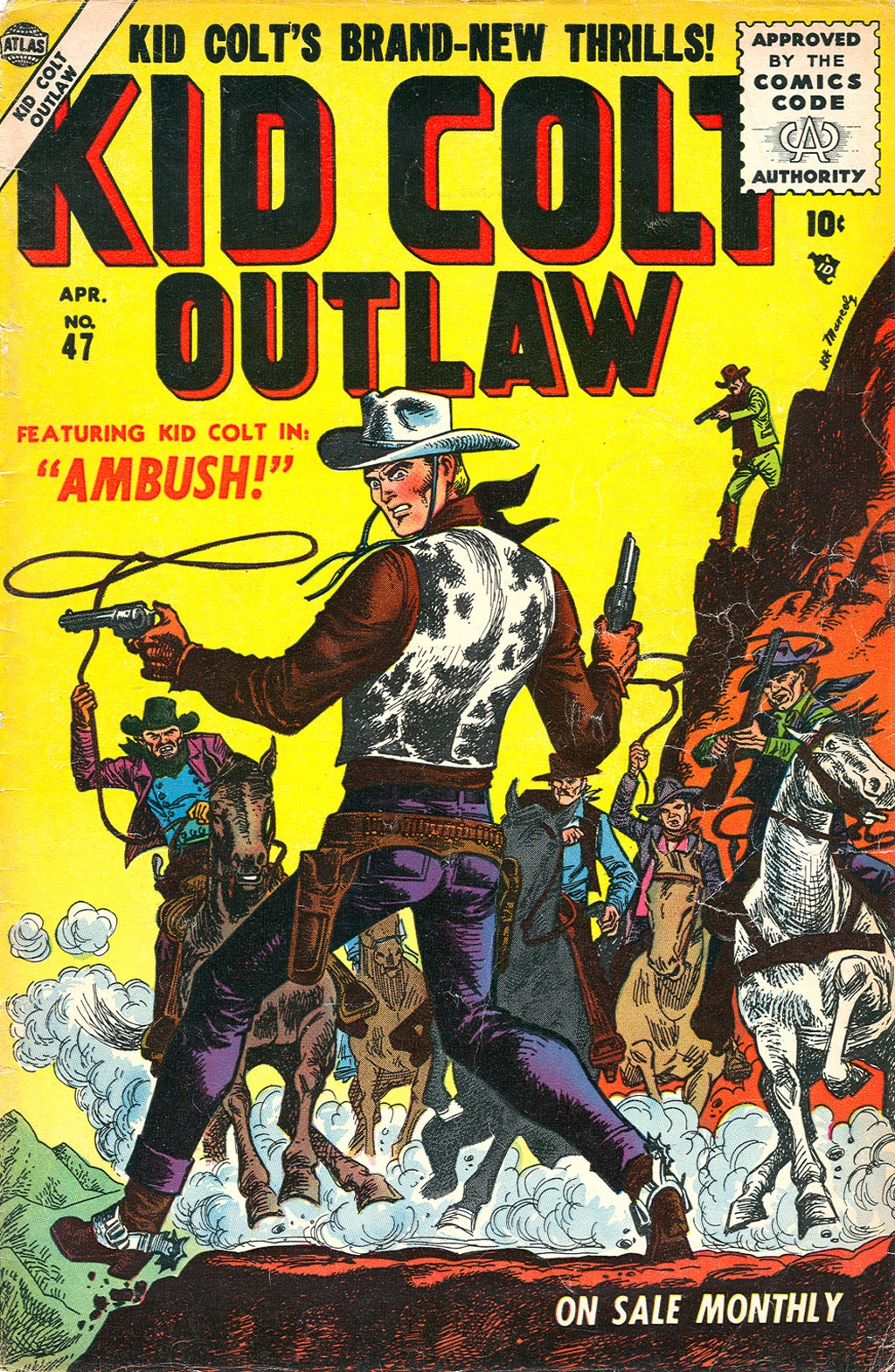 Kid Colt Outlaw issue 47 - Page 1