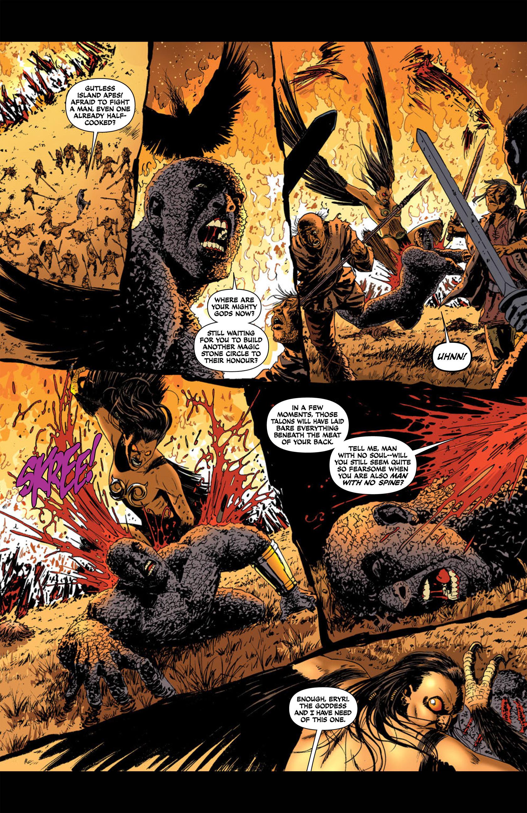 Read online Aquila comic -  Issue #1 - 17