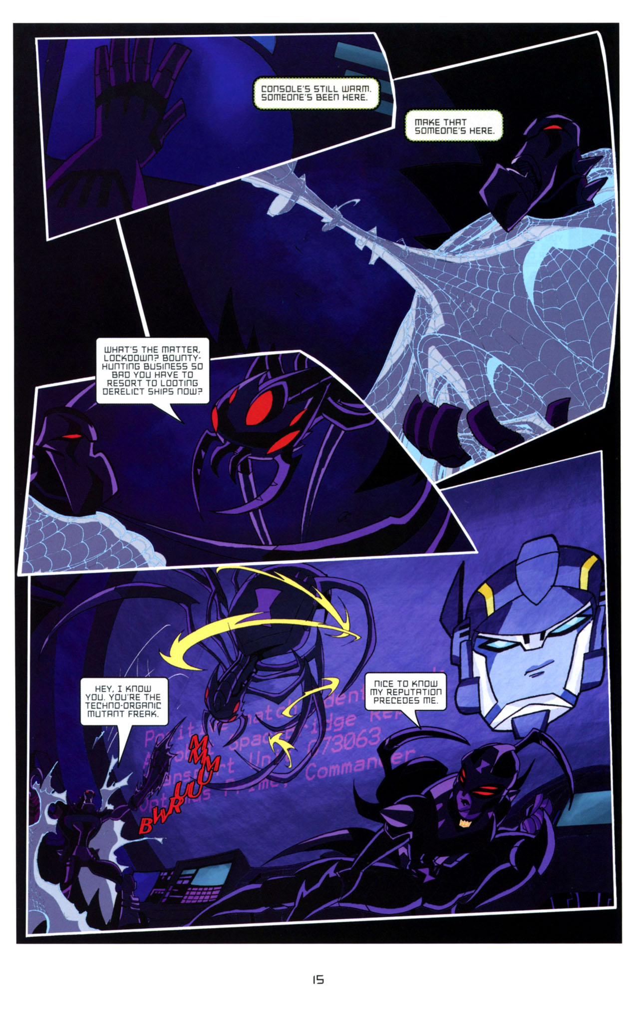 Read online Transformers Animated: The Arrival comic -  Issue #4 - 18