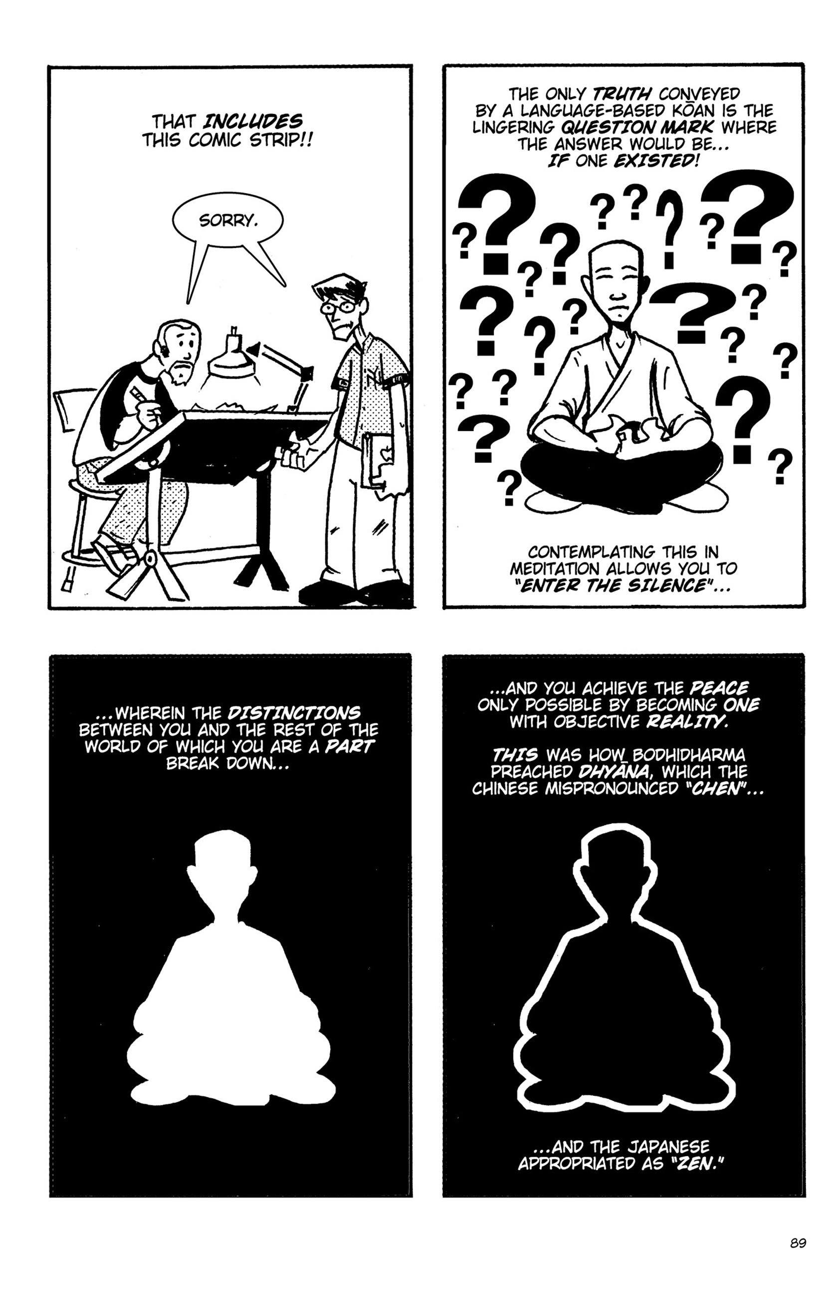 Read online Action Philosophers! comic -  Issue #Action Philosophers! TPB (Part 1) - 89