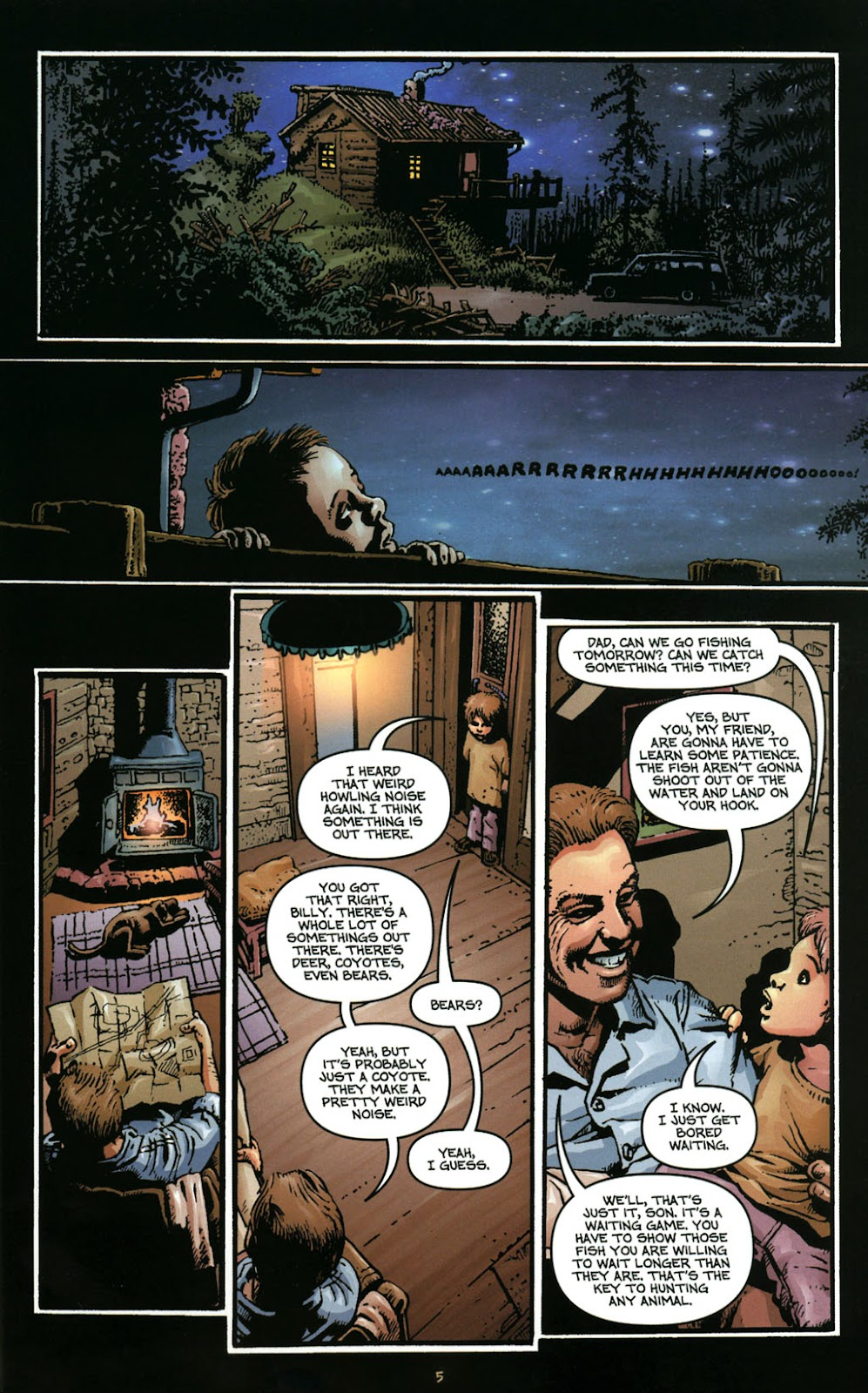 Bigfoot issue 1 - Page 7
