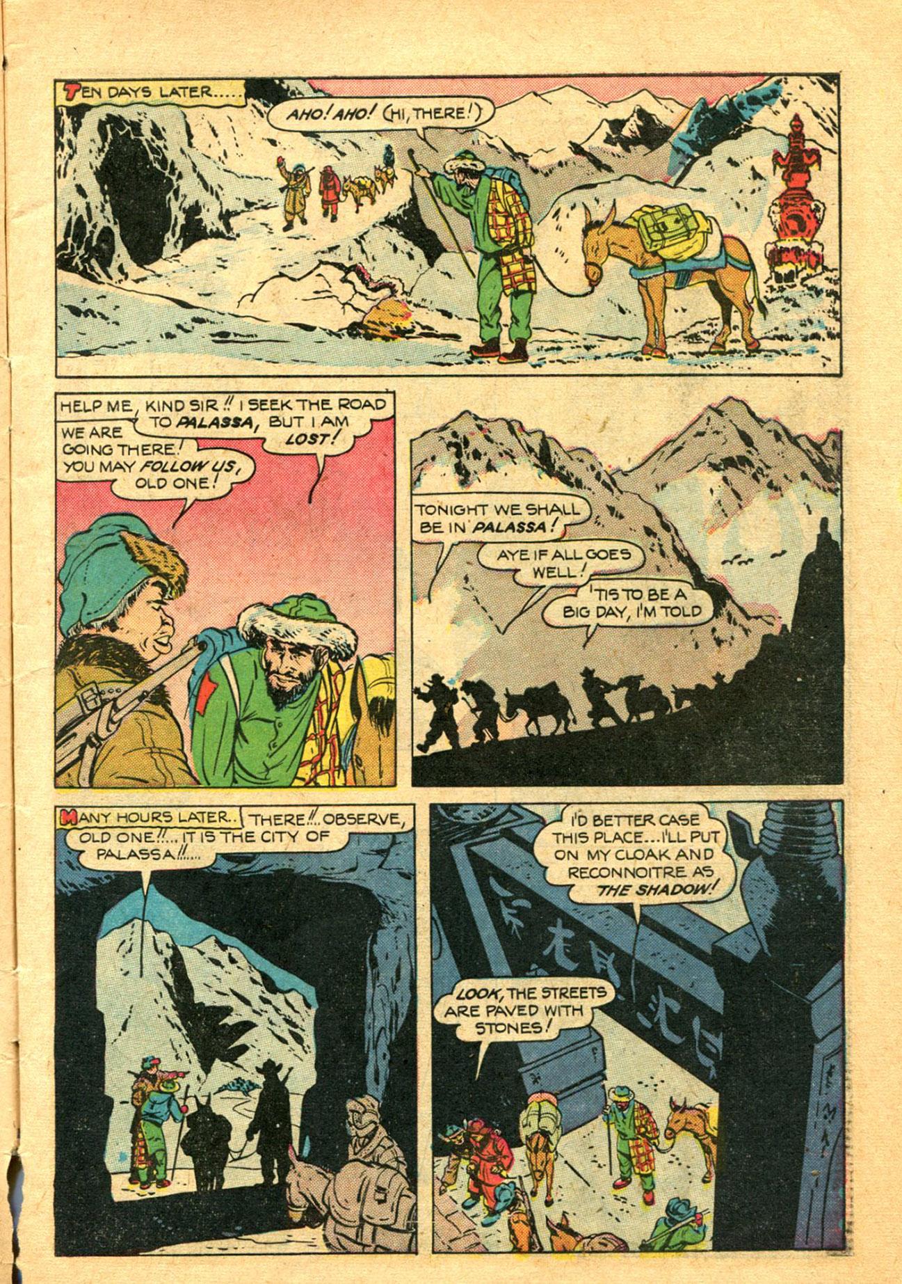 Read online Shadow Comics comic -  Issue #78 - 7