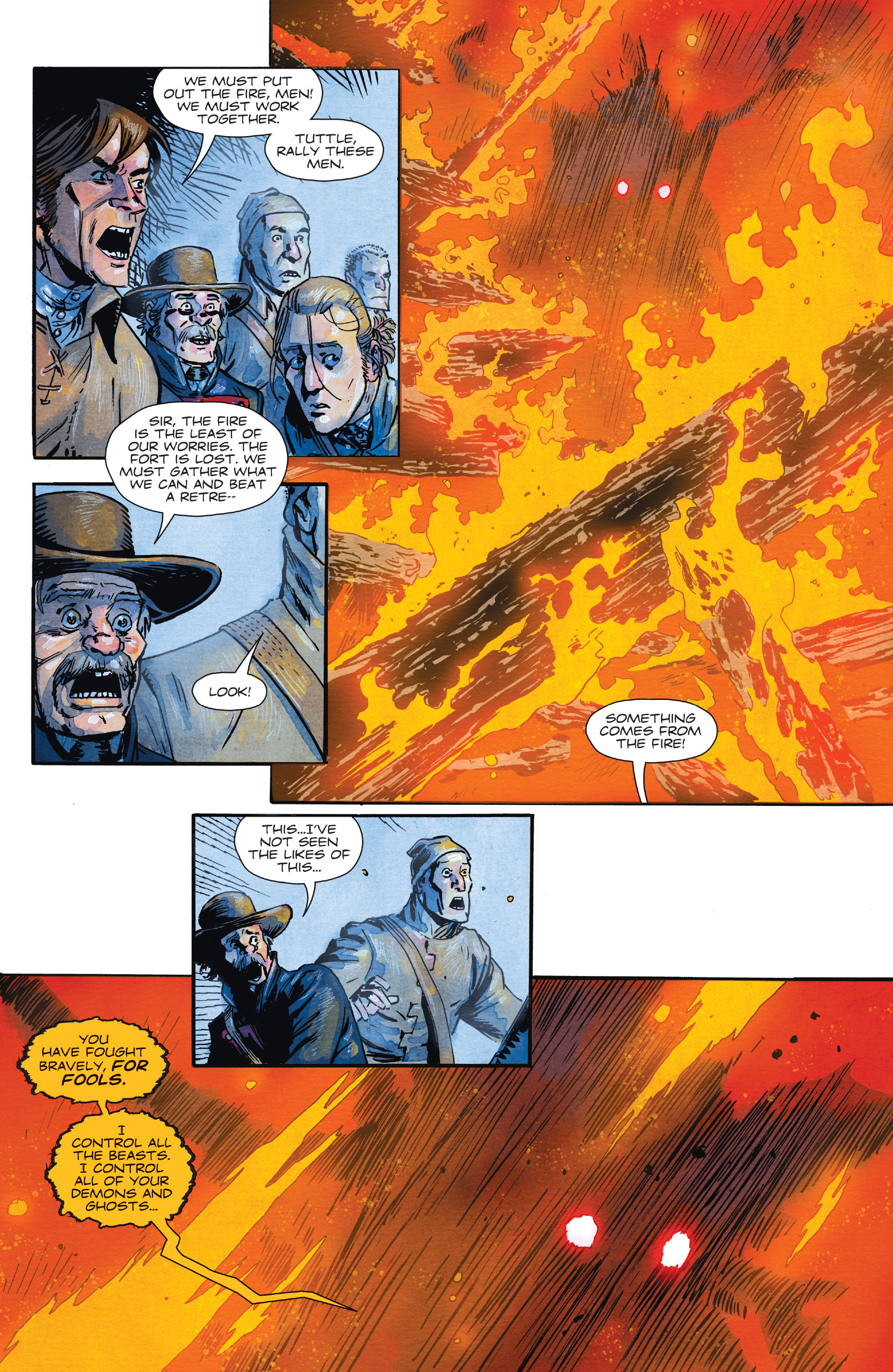 Read online Manifest Destiny comic -  Issue #28 - 21