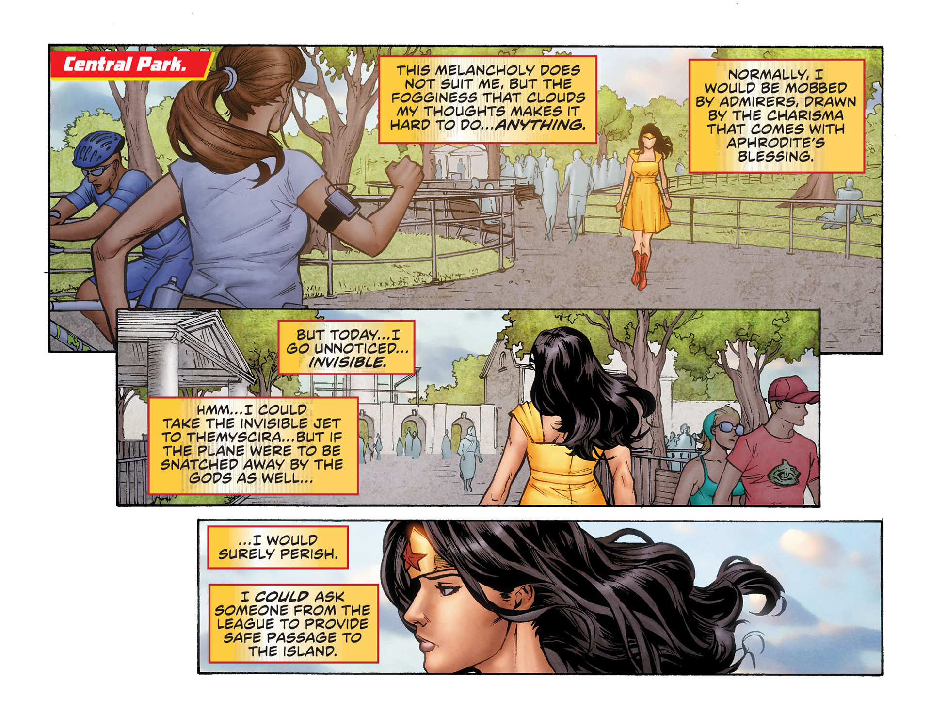 Read online Sensation Comics Featuring Wonder Woman comic -  Issue #6 - 5