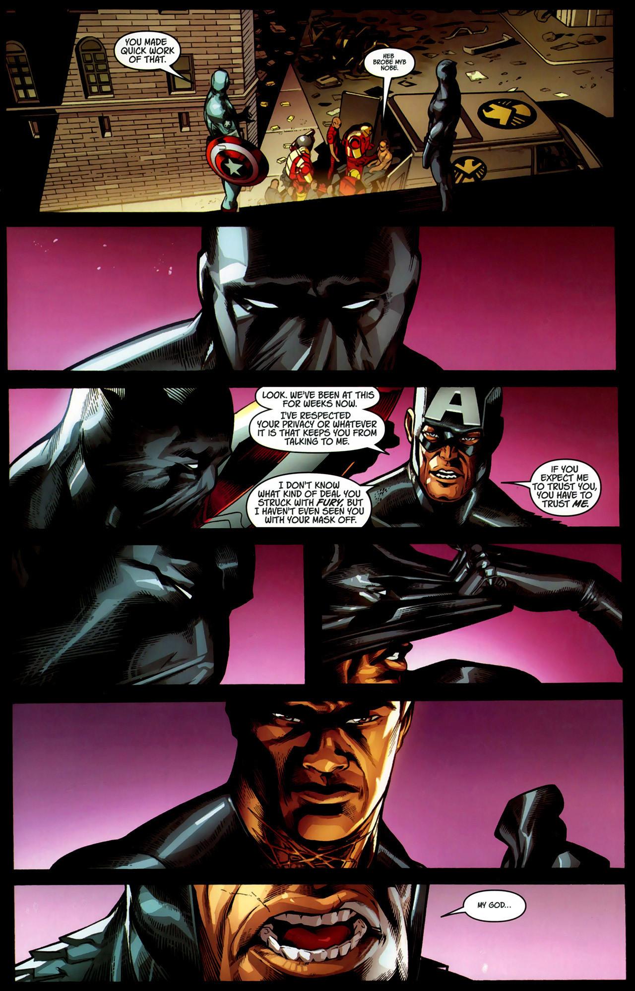 Read online Ultimate Captain America (2008) comic -  Issue # Full - 21