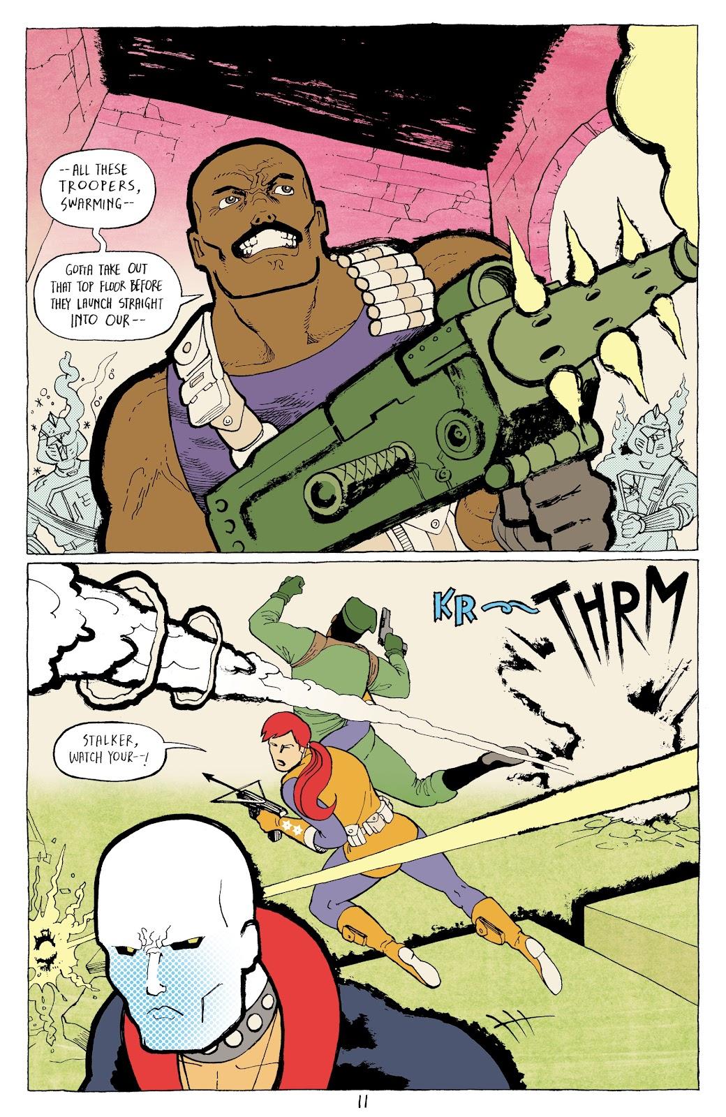 Read online G.I. Joe: Sierra Muerte comic -  Issue #3 - 13