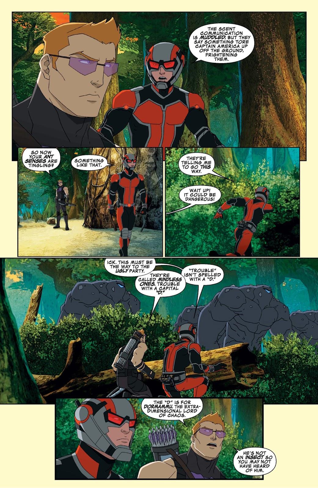 Read online Marvel Universe Avengers Assemble Season 2 comic -  Issue #9 - 14