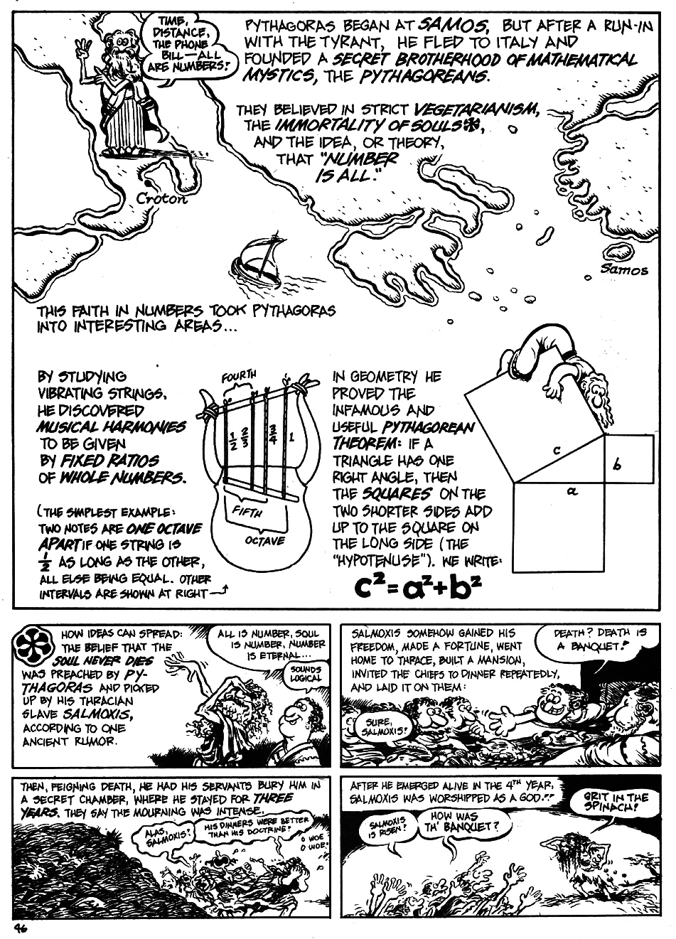 Read online The Cartoon History of the Universe comic -  Issue #5 - 48