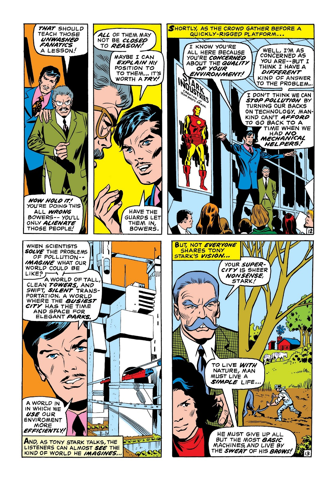 Read online Marvel Masterworks: The Invincible Iron Man comic -  Issue # TPB 7 (Part 2) - 21