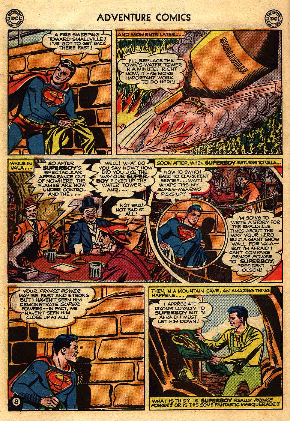 Read online Adventure Comics (1938) comic -  Issue #175 - 10