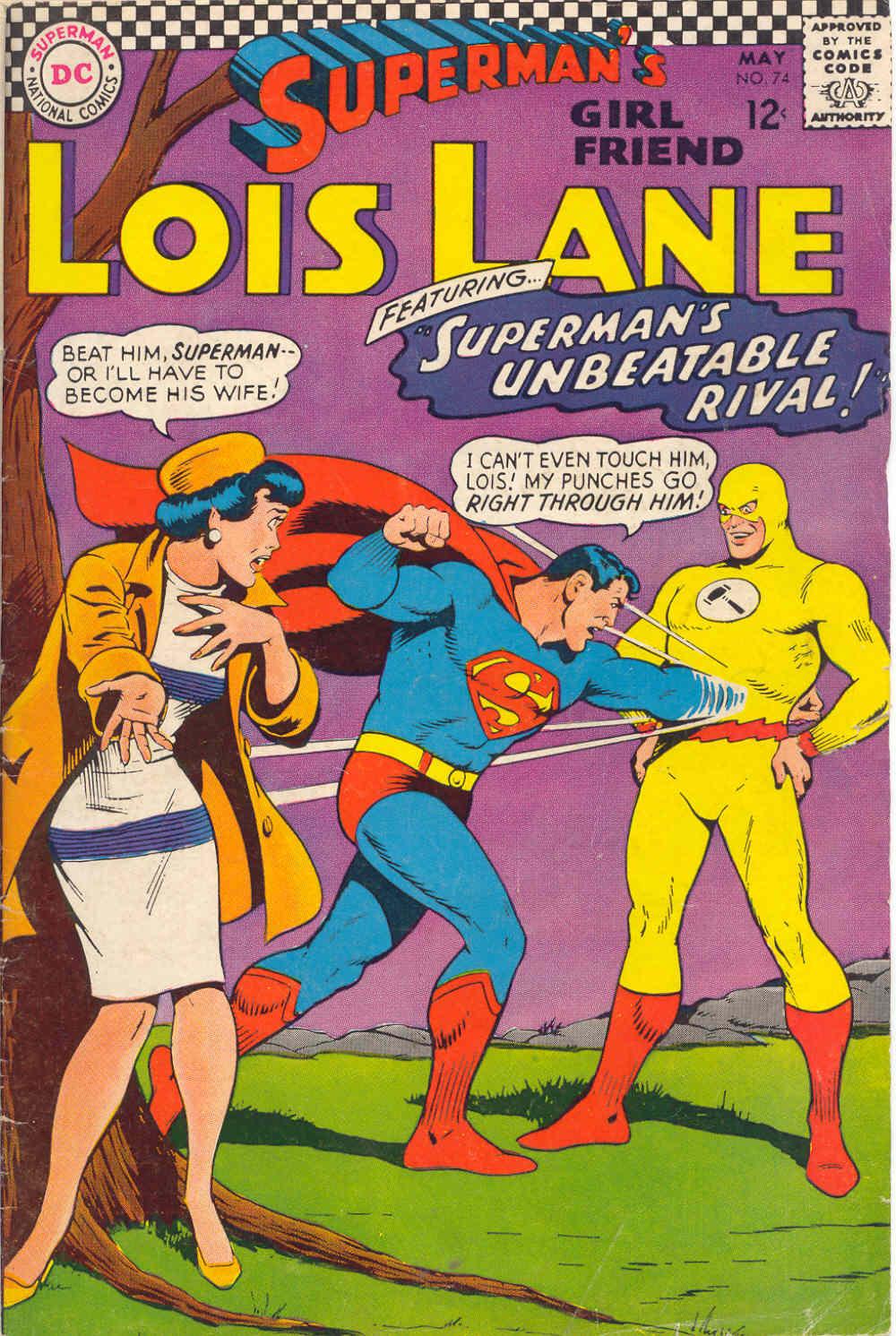 Supermans Girl Friend, Lois Lane 74 Page 1