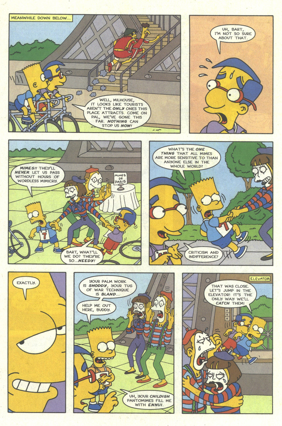 Read online Simpsons Comics comic -  Issue #23 - 19