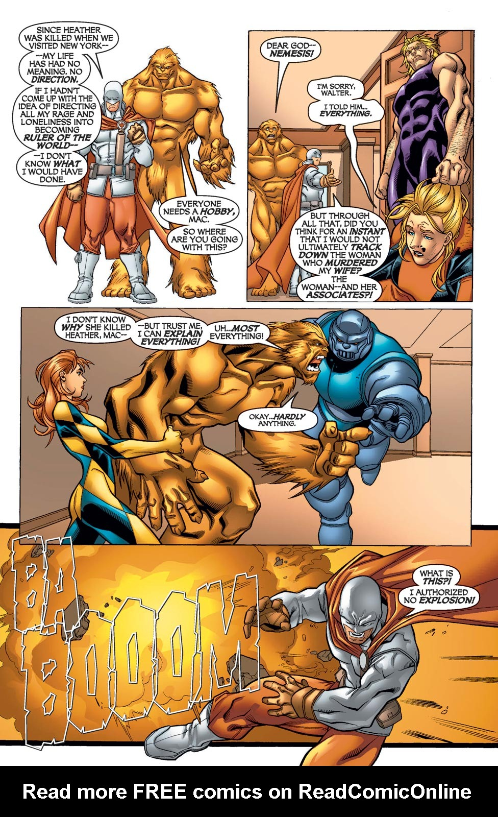 Read online Alpha Flight (2004) comic -  Issue #12 - 11