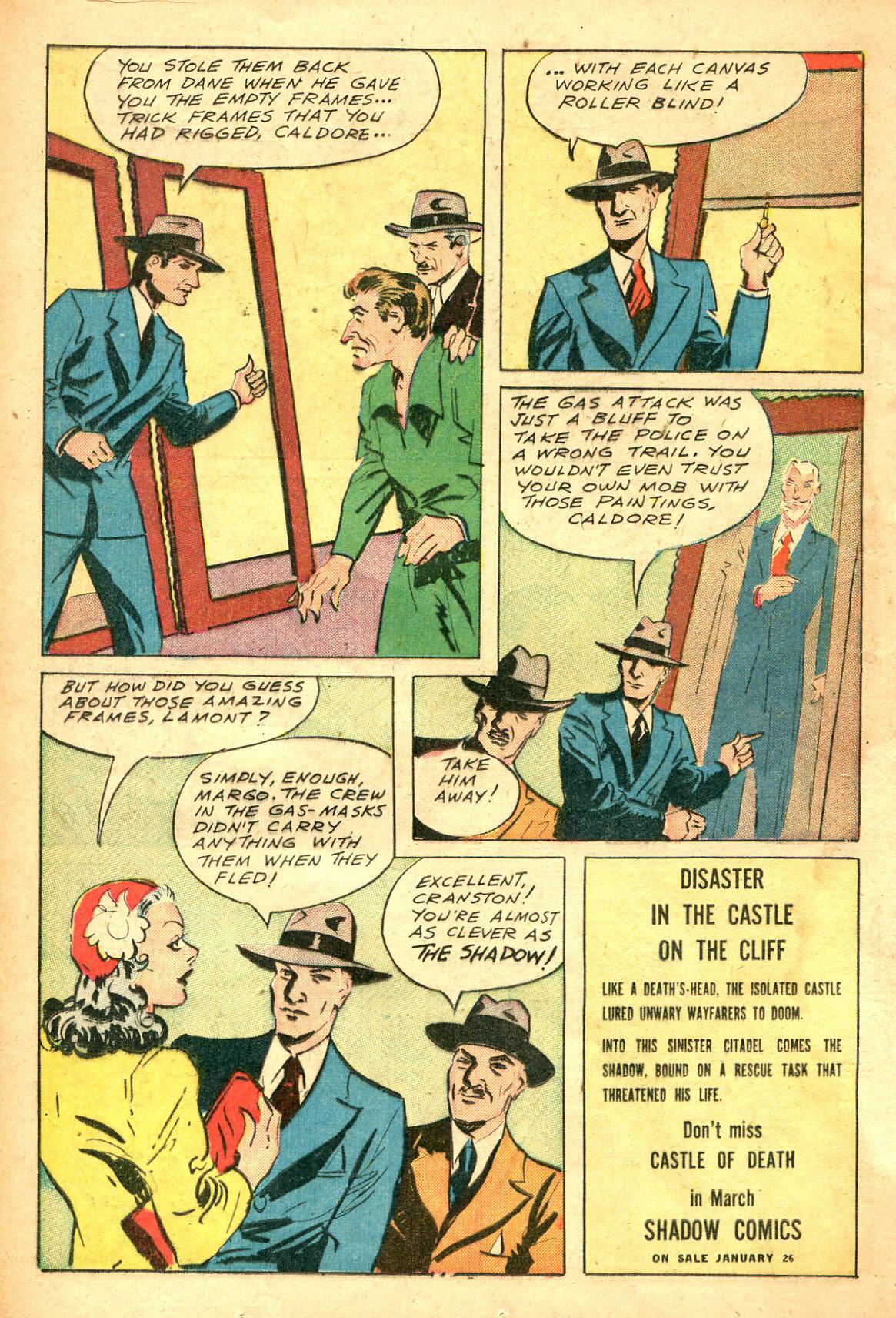 Read online Shadow Comics comic -  Issue #47 - 17