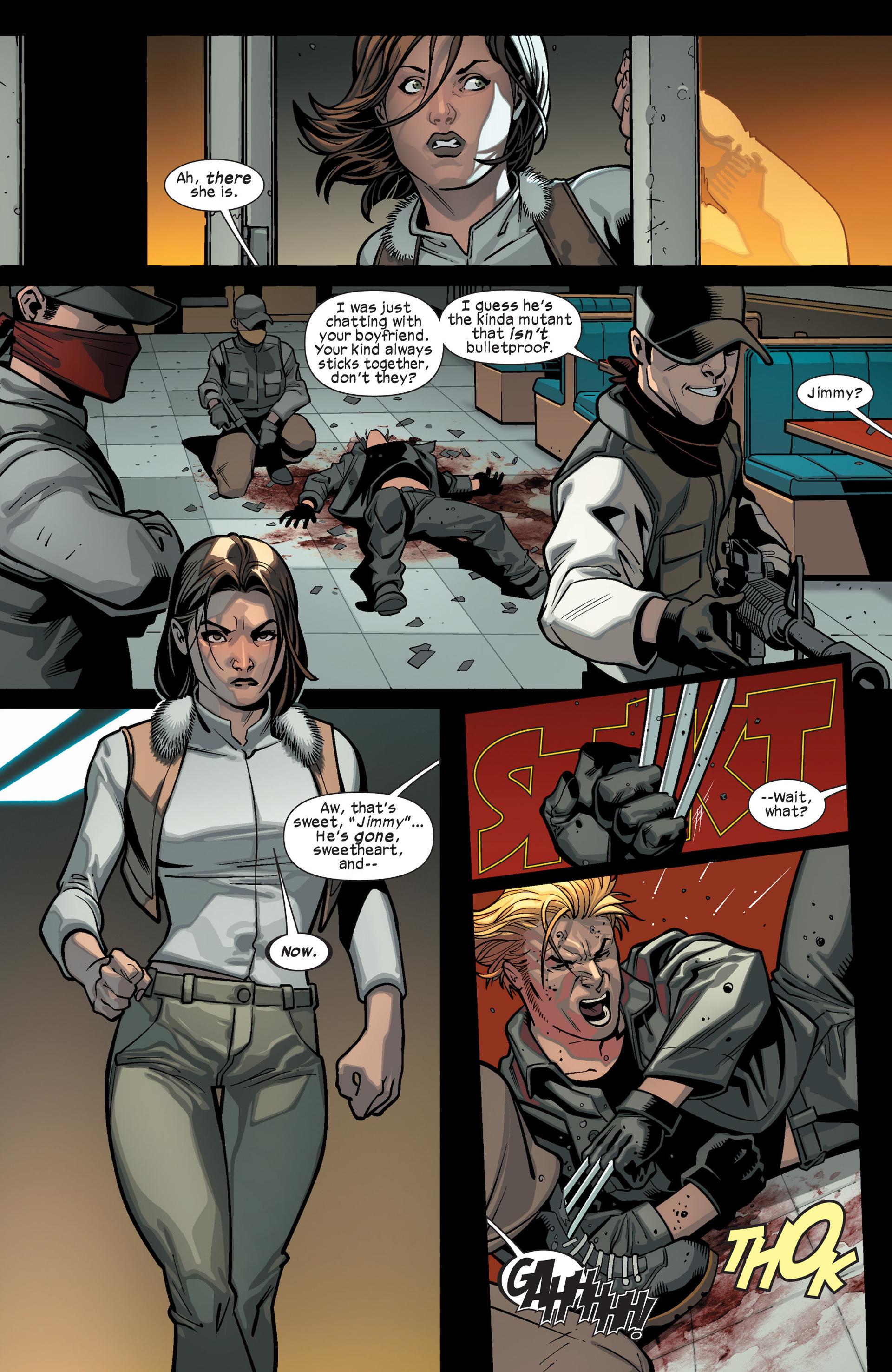 Read online Ultimate Comics X-Men comic -  Issue #15 - 6