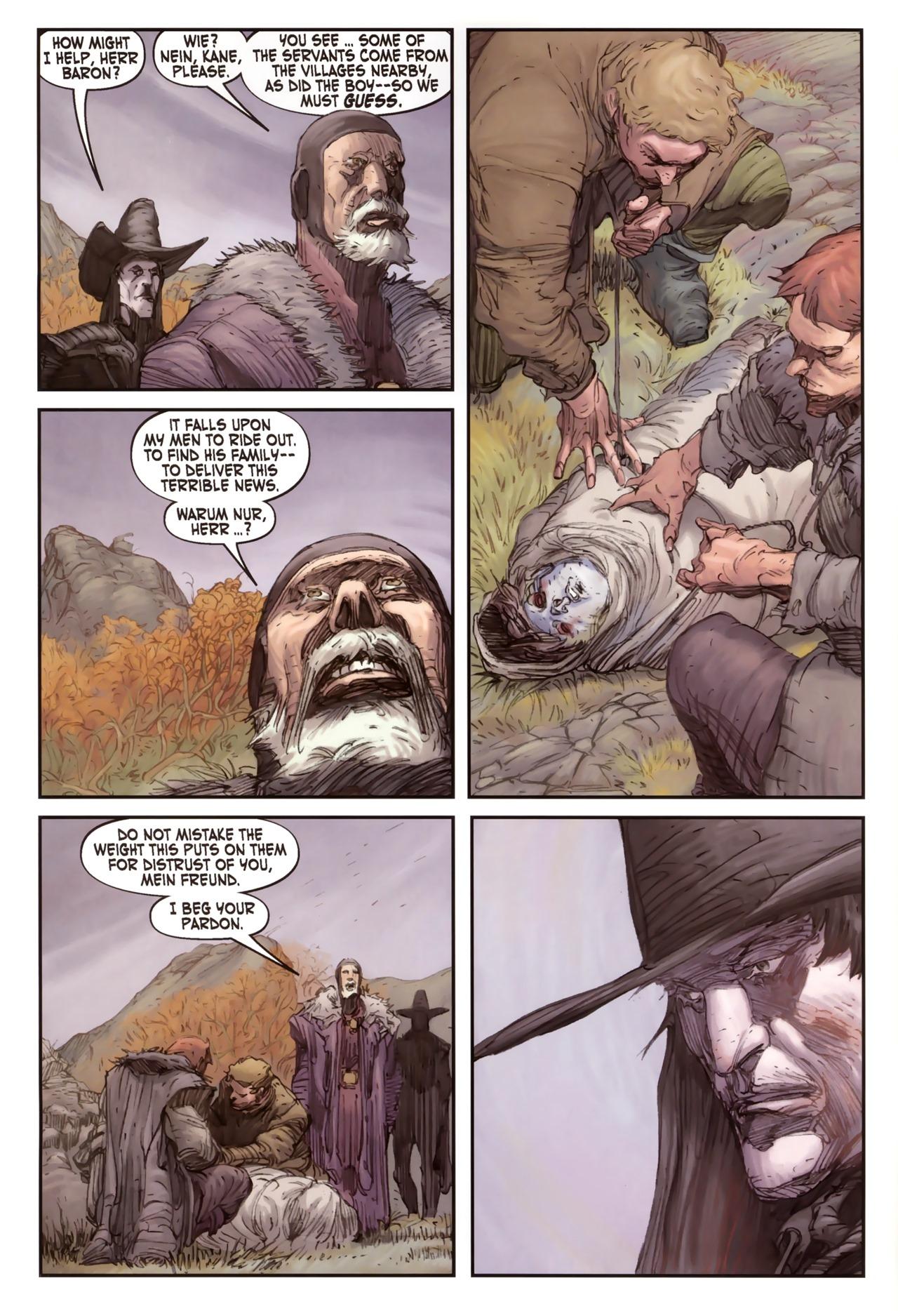 Read online Solomon Kane comic -  Issue #2 - 22