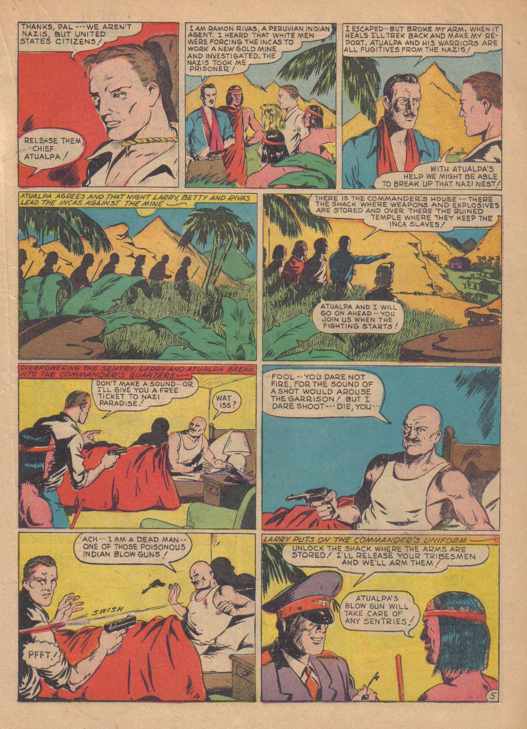 Exciting Comics (1940) issue 13 - Page 35