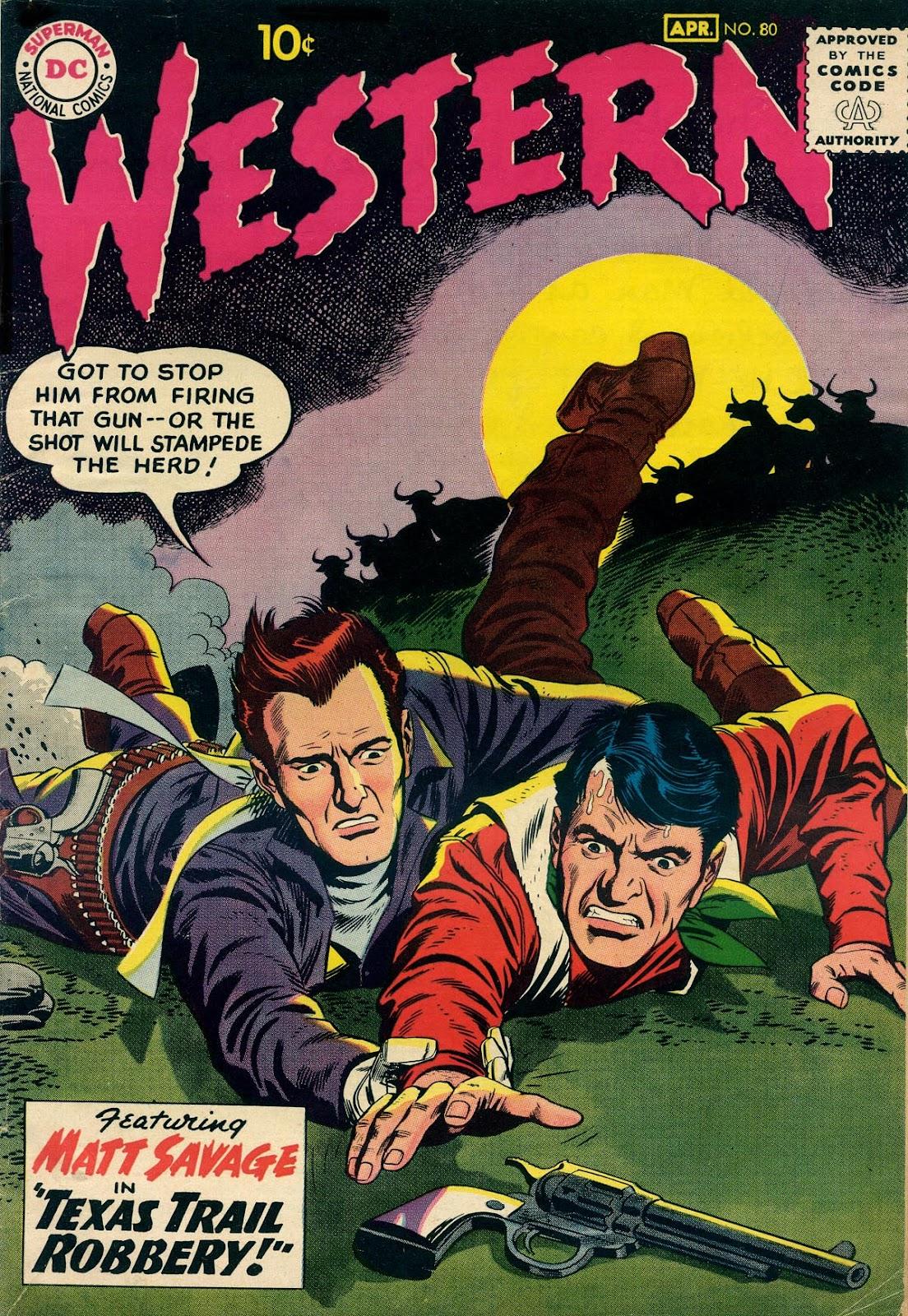 Western Comics 80 Page 1