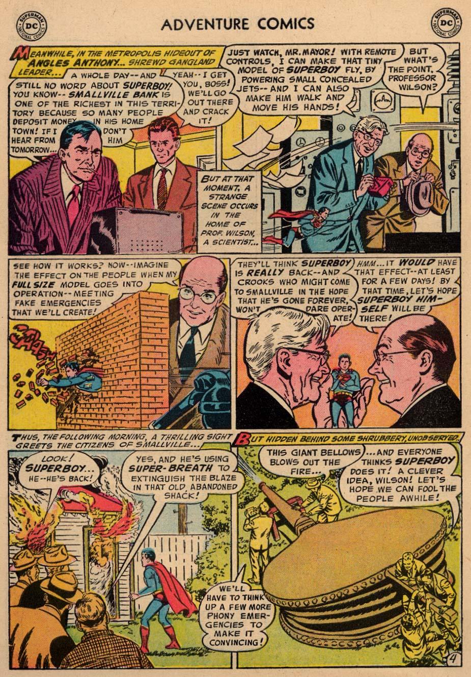 Read online Adventure Comics (1938) comic -  Issue #212 - 6
