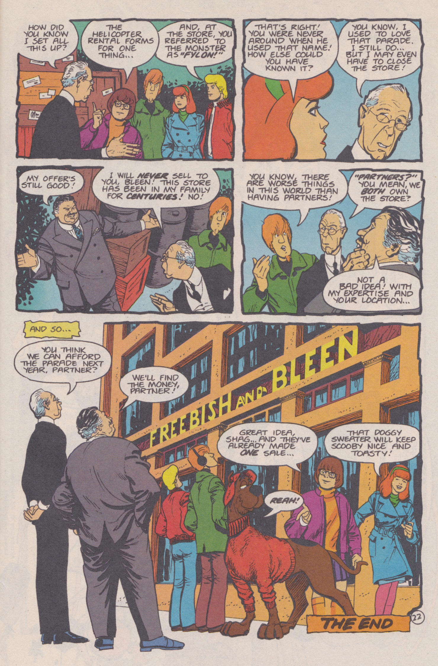 Read online Scooby-Doo (1995) comic -  Issue #14 - 23