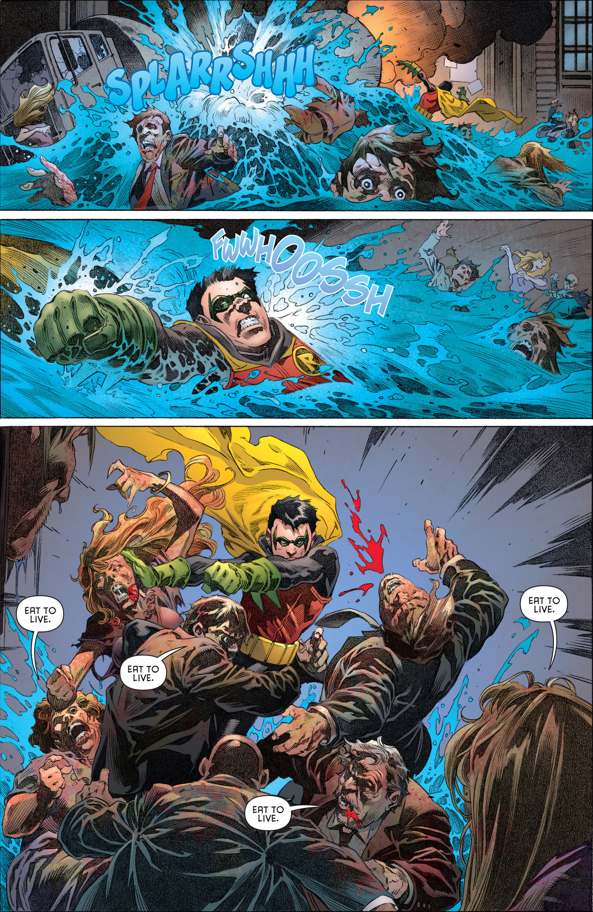 Read online Batman and Robin (2011) comic -  Issue #13 - 19
