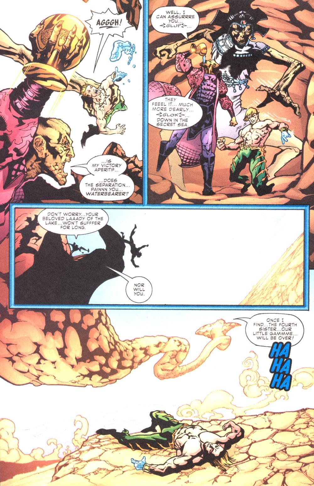 Read online Aquaman (2003) comic -  Issue #10 - 17