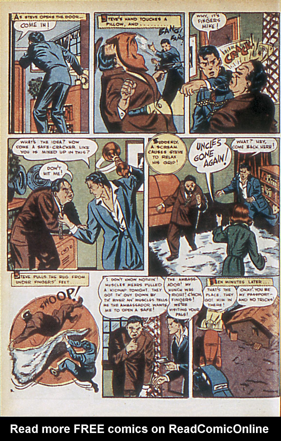 Read online Adventure Comics (1938) comic -  Issue #63 - 21