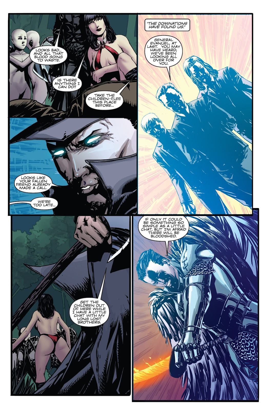 Read online Vampirella Strikes comic -  Issue #6 - 20