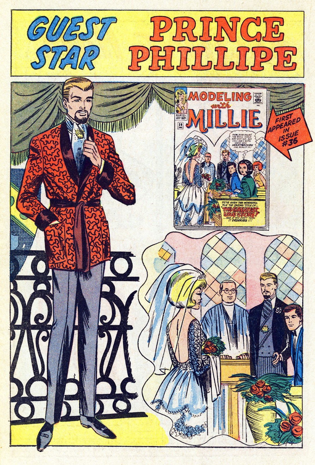 Read online Millie the Model comic -  Issue # Annual 4 - 54