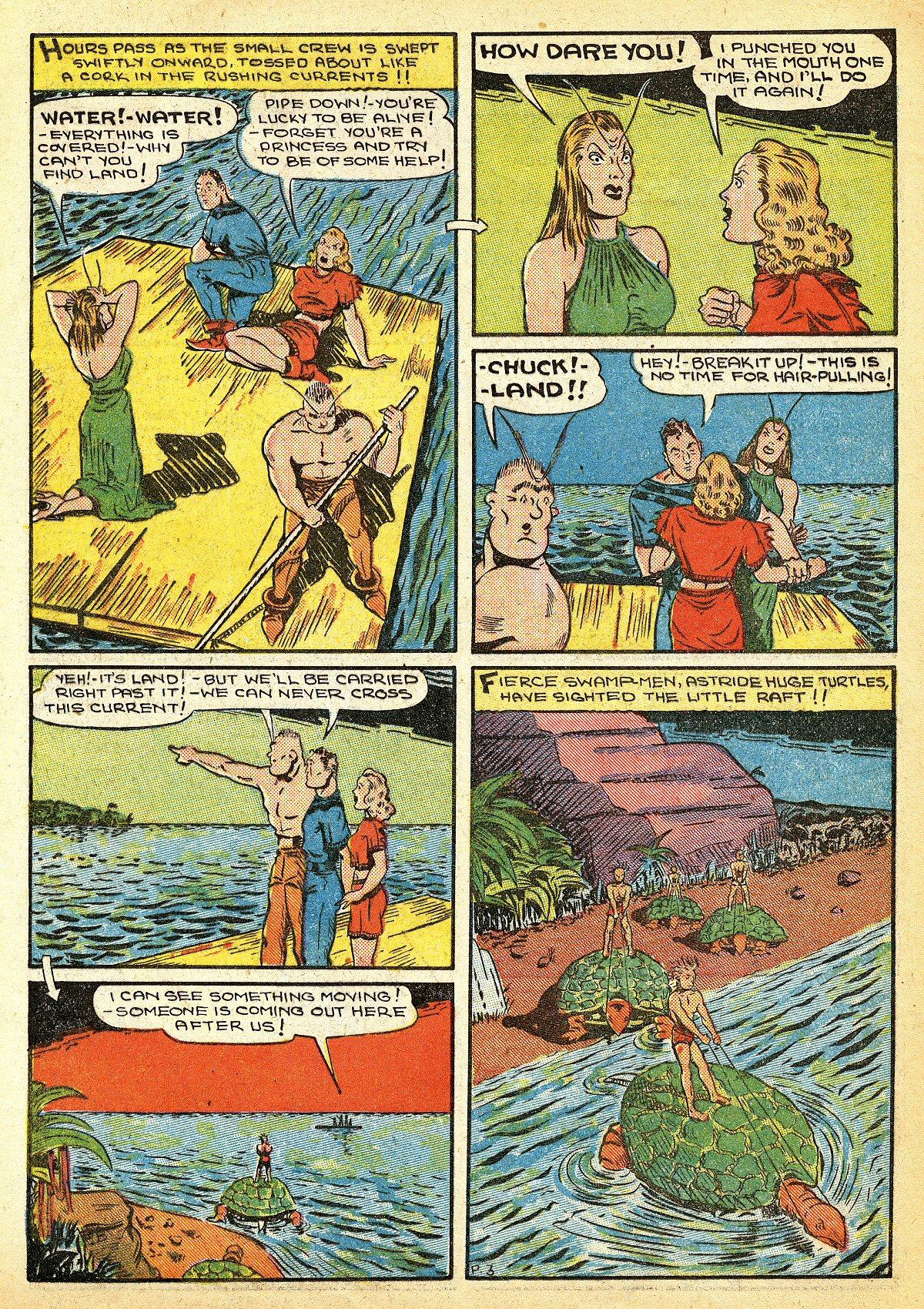 Read online Amazing Man Comics comic -  Issue #10 - 47