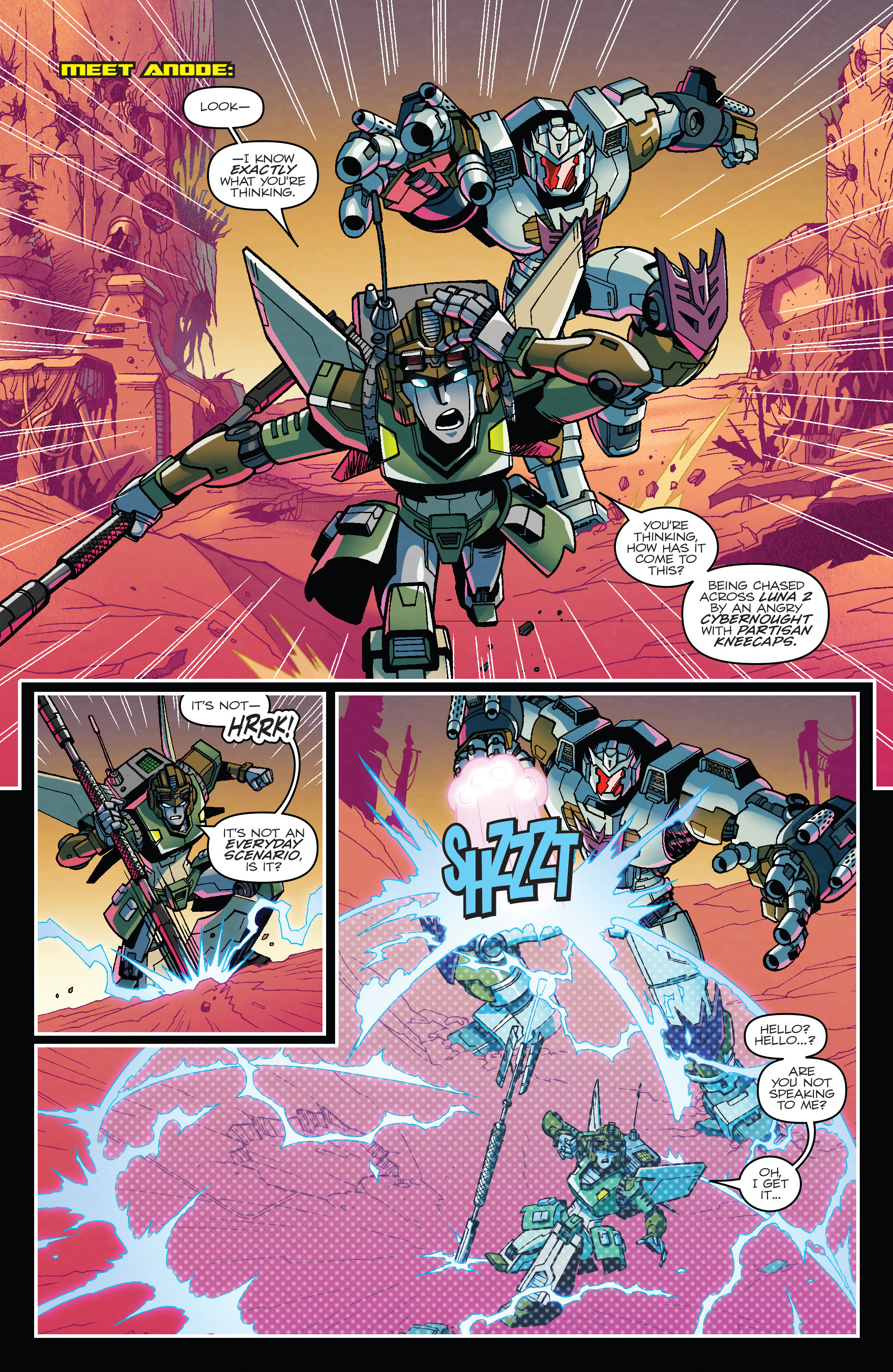 Read online Transformers: Lost Light comic -  Issue #1 - 3