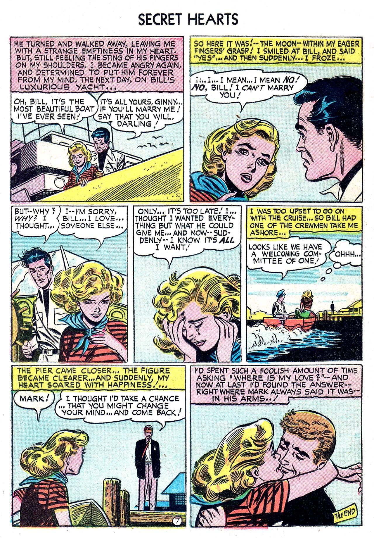 Read online Secret Hearts comic -  Issue #32 - 16
