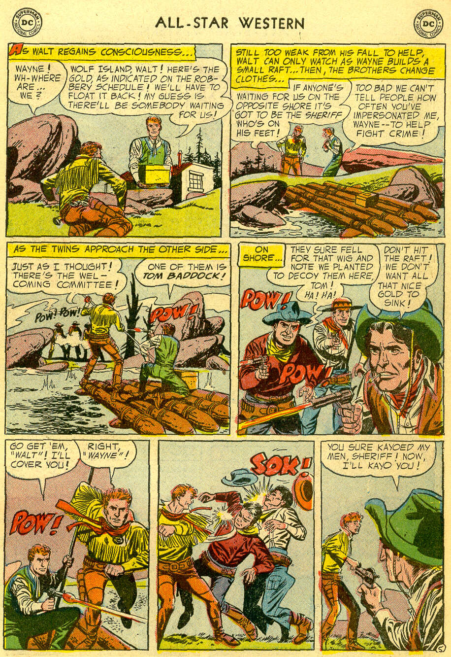 Read online All-Star Western (1951) comic -  Issue #82 - 7