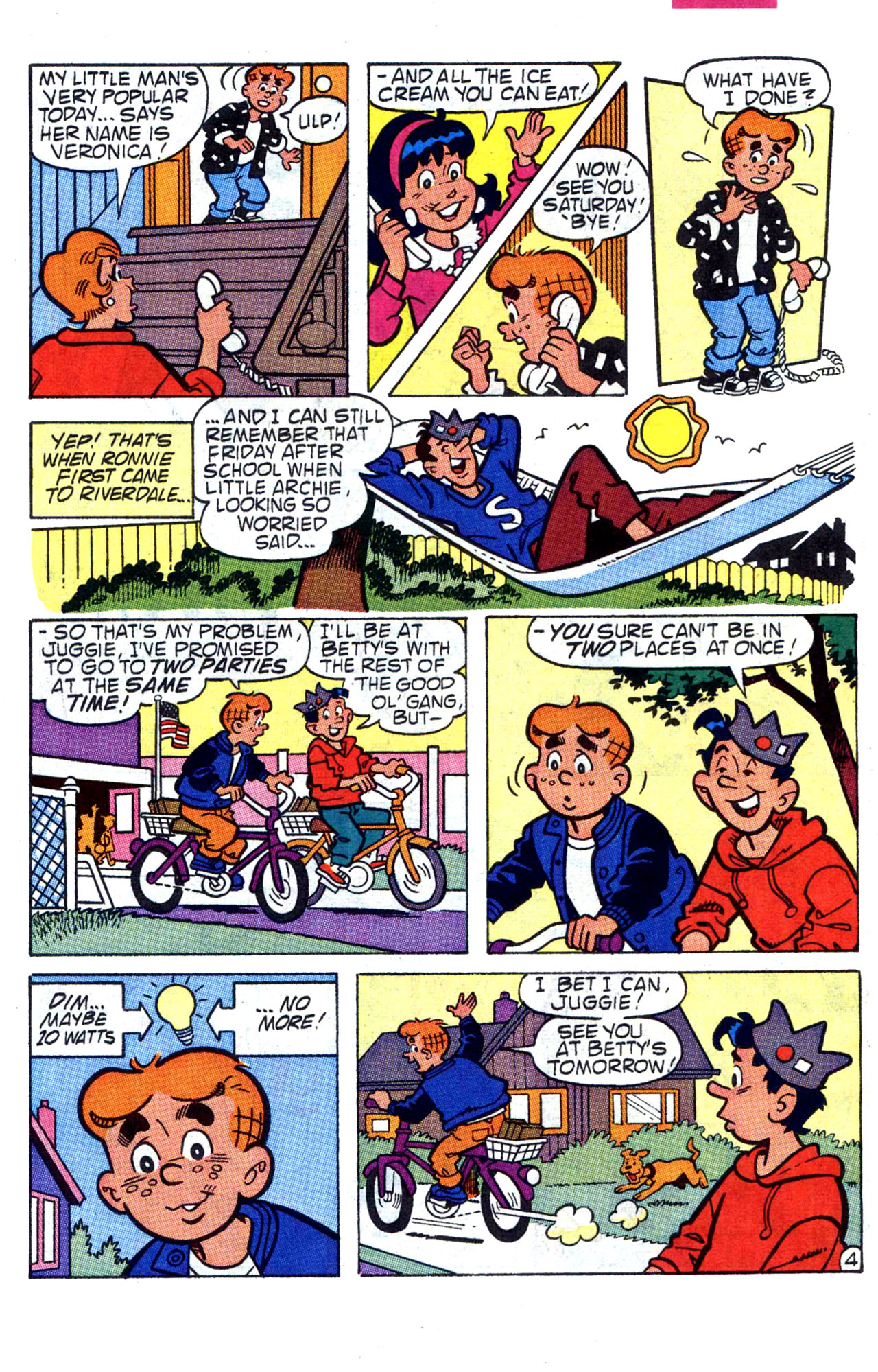 Read online Archie (1960) comic -  Issue #400 - 7