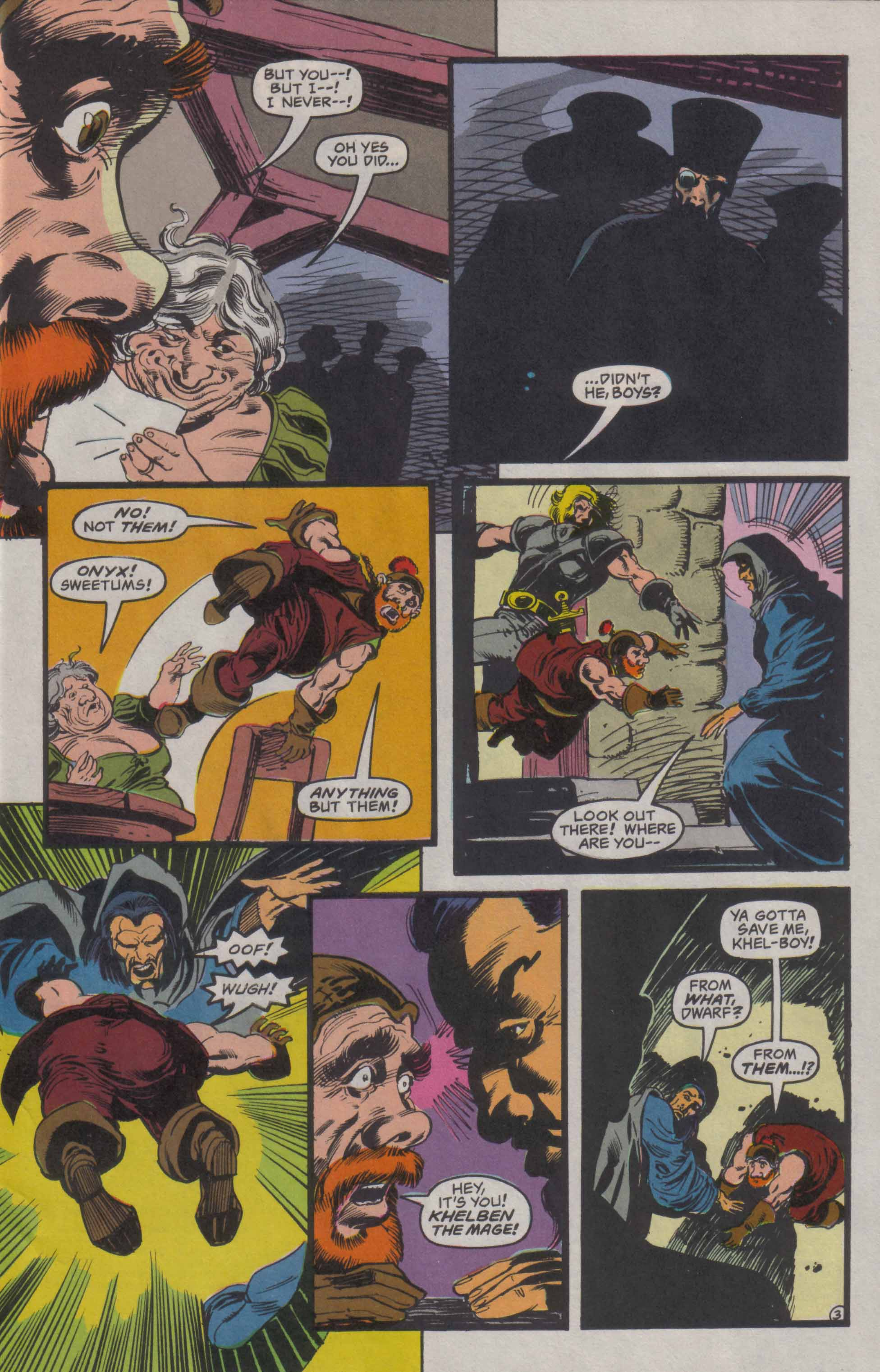 Read online Advanced Dungeons & Dragons comic -  Issue #23 - 4