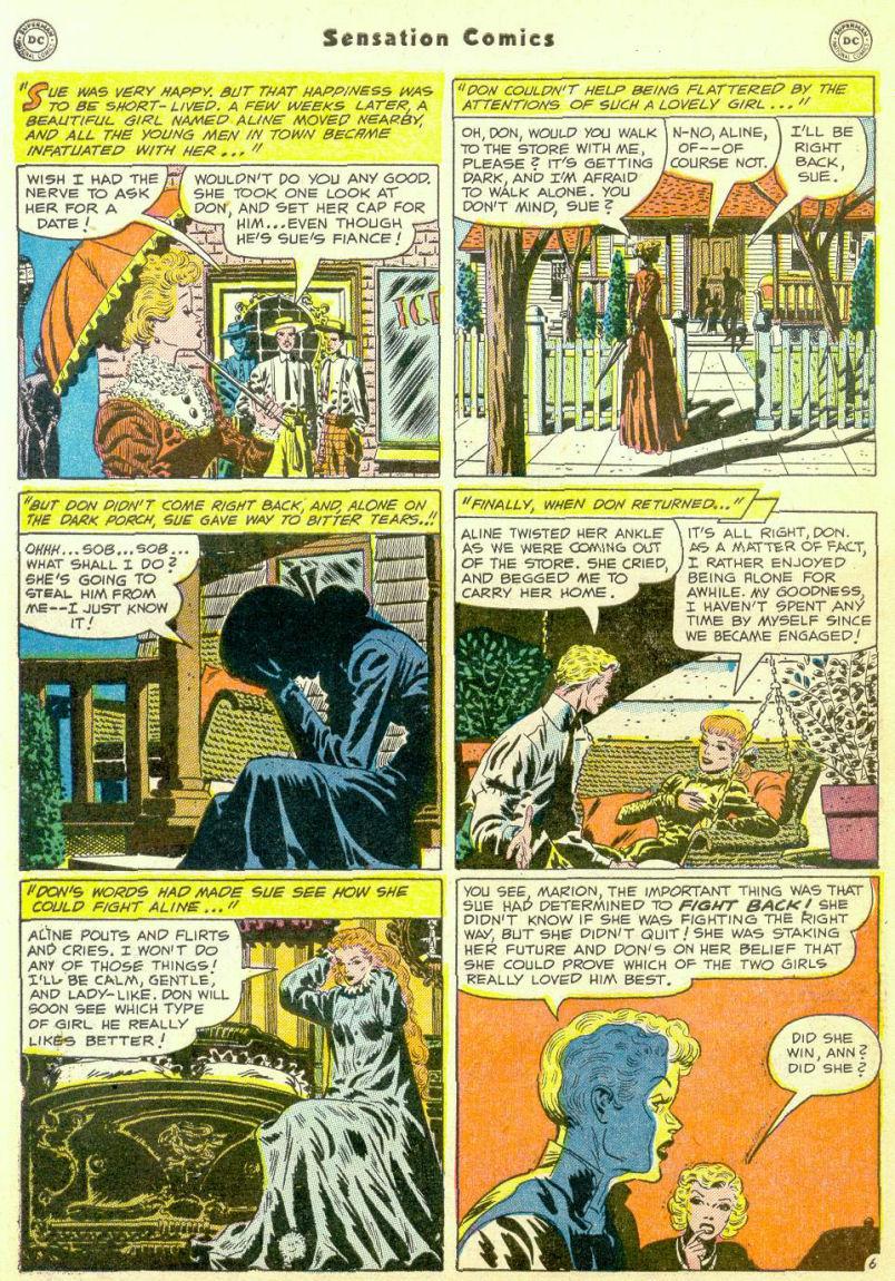 Read online Sensation (Mystery) Comics comic -  Issue #98 - 44