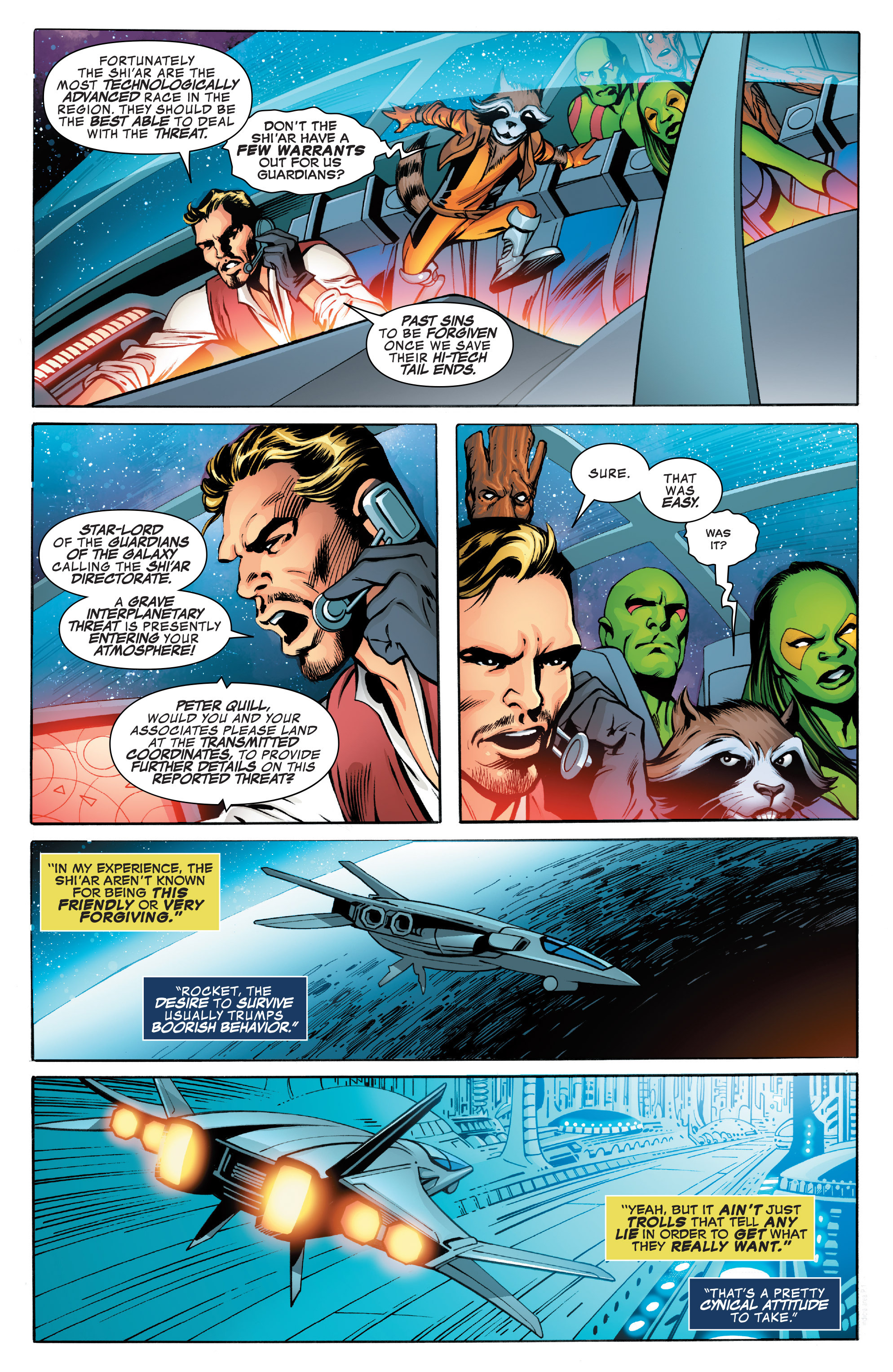Read online Guardians of the Galaxy: Mother Entropy comic -  Issue #3 - 20