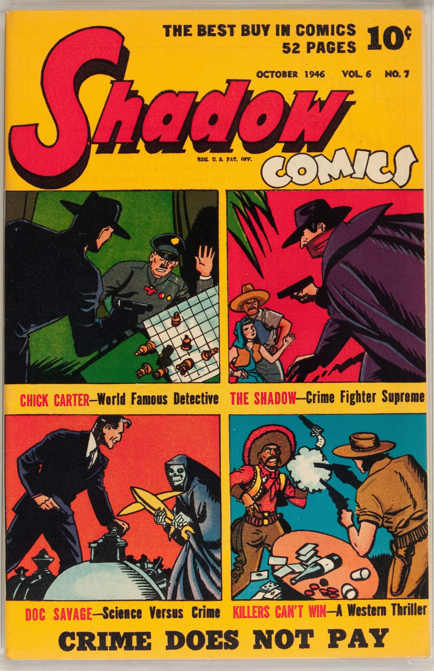 Read online Shadow Comics comic -  Issue #67 - 1
