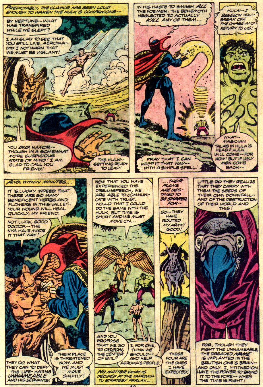 Comic The Defenders (1972) issue 81