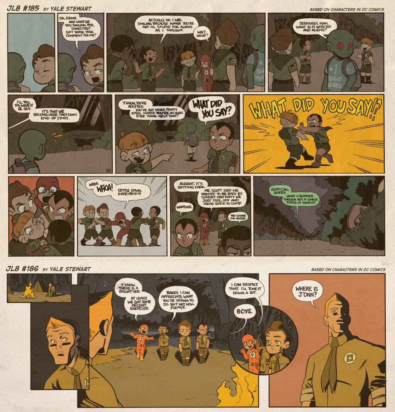 Read online JL8 – The Complete Collection comic -  Issue # TPB (Part 1) - 97