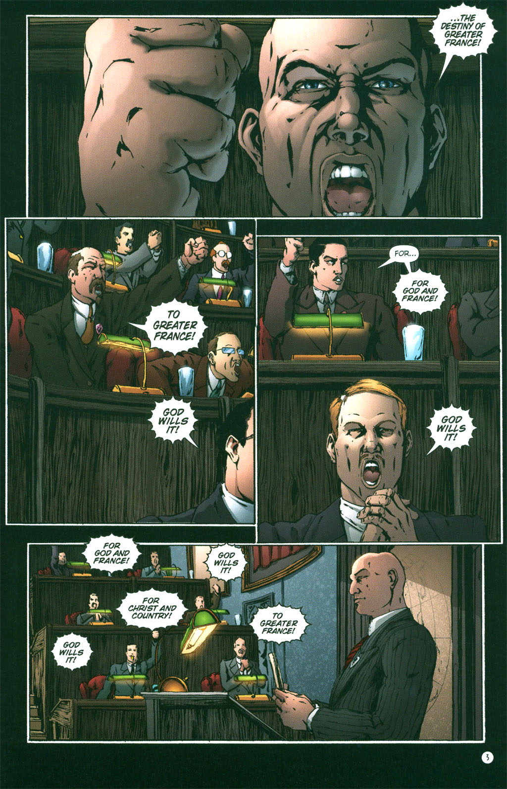 Read online Rex Mundi comic -  Issue #3 - 5