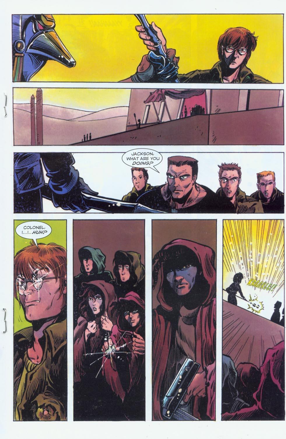 Read online Stargate comic -  Issue #3 - 17